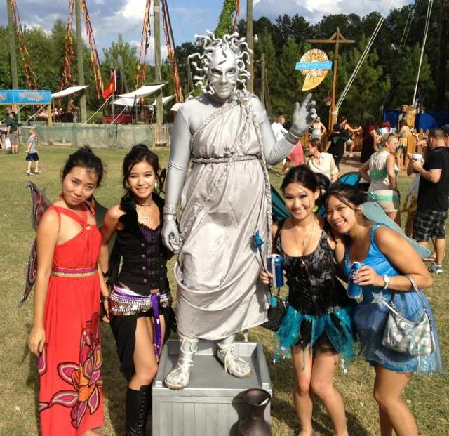 Belly Dancing and Ren Fest