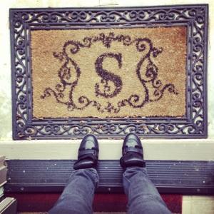 s-doormat-monogram